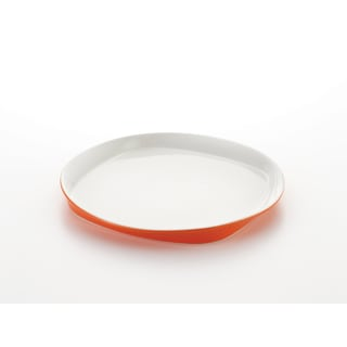 Rachael Ray Round & Square Orange 14-inch Oval Platter