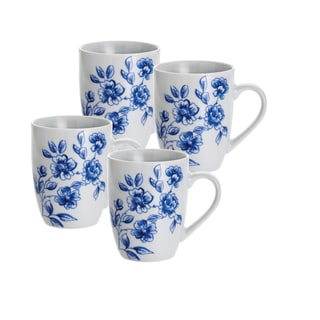 Paula Deen Signature Spring Prelude 11-ounce Mugs (Set of 4)