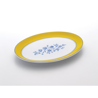 Paula Deen Signature Spring Prelude 14-Inch Oval Platter
