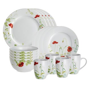 Paula Deen Signature Poppy Valley 16-piece Dinnerware Set