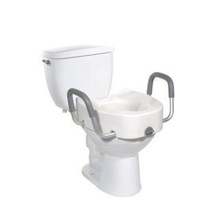 Drive Medical Padded-arm Raised Toilet Seat