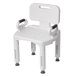 Bath Bench with Back and Arms