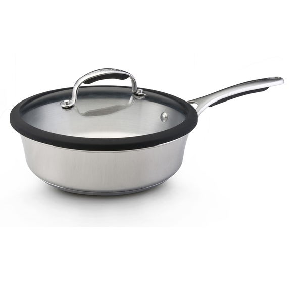 KitchenAid Gourmet Stainless Steel Nonstick 3-Quart Covered Saute