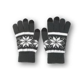 Solegear Men's Grey Touch Screen Smart Gloves