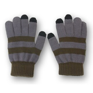 Solegear Men's Green Line Touch Screen Smart Gloves