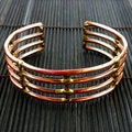 Handmade Copper and Brass Window Cuff (South Africa)