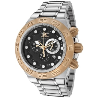 Invicta Men's 'Subaqua/Sports' Goldtone Stainless-Steel Watch
