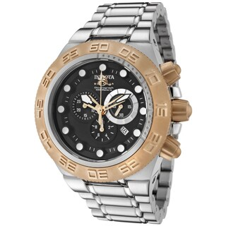 Invicta Men's IN-1529 'Subaqua/Sports' Gold-Tone Stainless Steel Watch