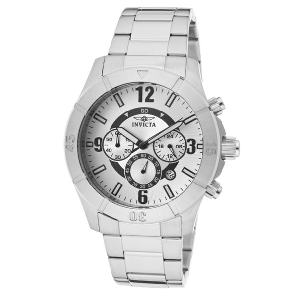 Invicta Men's 'Specialty' Stainless Steel Watch