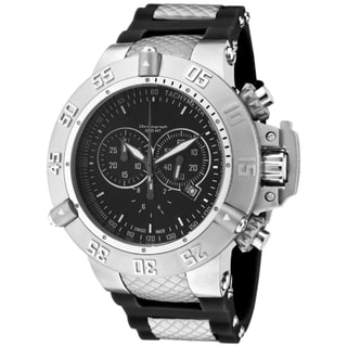 Invicta Men's 'Subaqua/Noma III' Black Polyurethane Watch