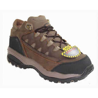 AdTec Men's 4-inch Brown Crazy Horse Work/ Hiker Boots