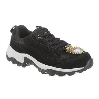 AdTec Men's Black Steel-toed Work/ Hiker Boots