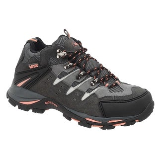 AdTec Women's Grey/Peach Work/Hiker Boots