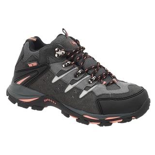 AdTec Women's Grey/Peach Work/Hiker Boots
