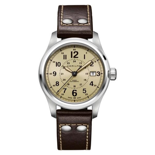 Hamilton Men's Stainless Steel Khaki Automatic Watch