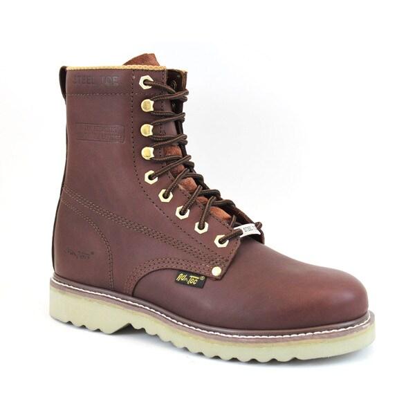 AdTec Men's Redwood Steel-toed Farm Boots