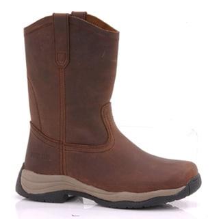 Rider Tecs Women's Brown Leather Wellington Boots