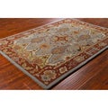 Mandara Hand-tufted Traditional Grey Wool Rug