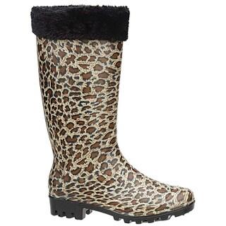 Shaboom Women's 13-inch Leopard Boot