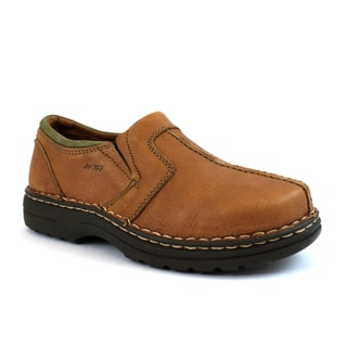 AdTec Men's Slip-On Comfort Gold Shoes