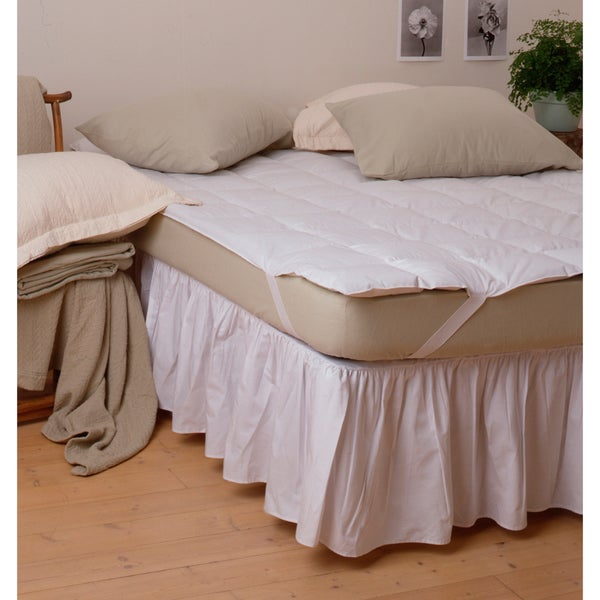 Hotel Performance Super Topper Full/ Queen-size Mattress Pad