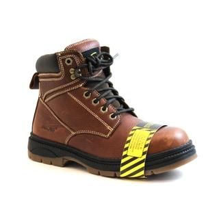 AdTec Men's Steel Toe Leather Work Boots