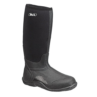 Tecs 16-inch Men's Marsh Boot Black 200G Thinsulate