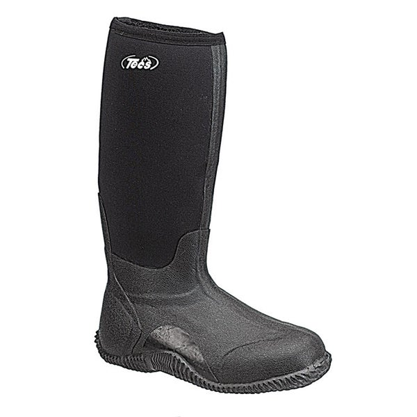 Tecs 16-inch Men's Marsh Boot Black 200G Thinsulate