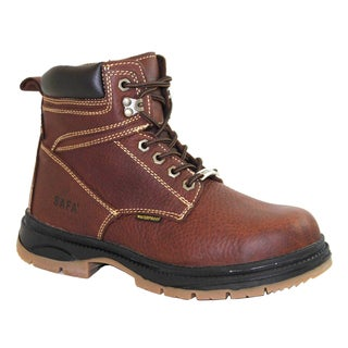 SAFA Men's Steel Toe Leather Work Boots