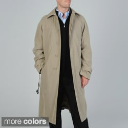 Cianni Cellini Men's 'Renny' Full-length Belted Raincoat