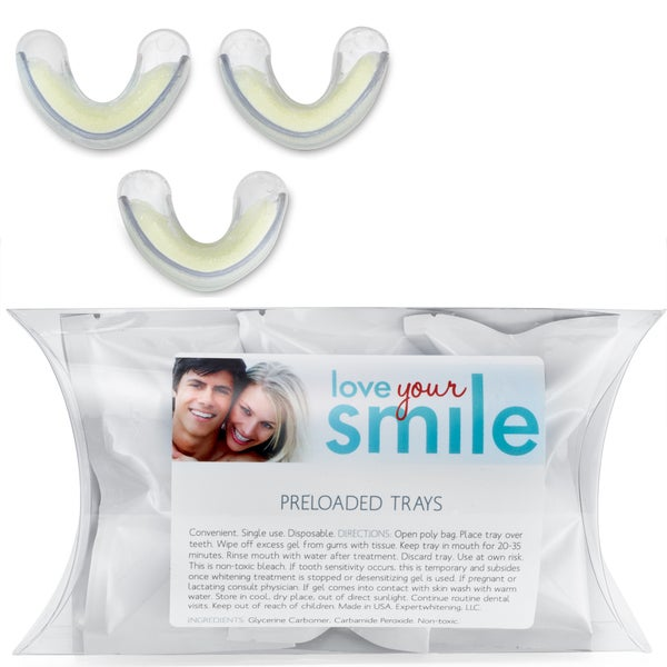 Convenient Pre-loaded Teeth Whitening Trays