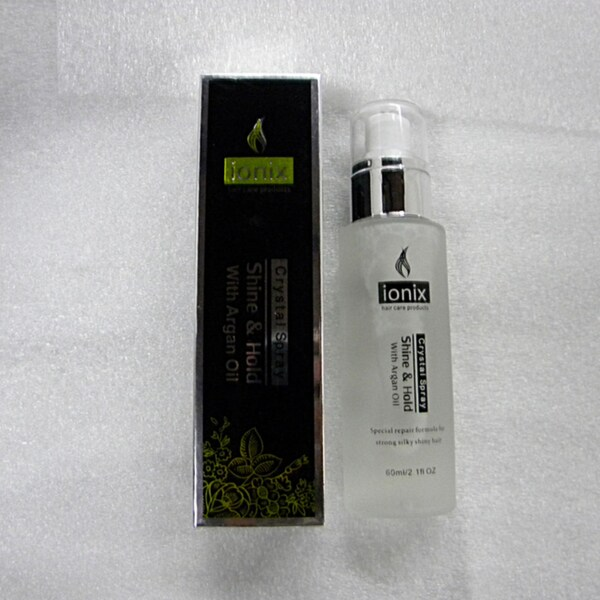 Ionix Crystal Spray Shine and Hold with Argan Oil