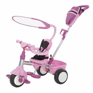 Little Tikes 3-in-1 Purple Deluxe Trike