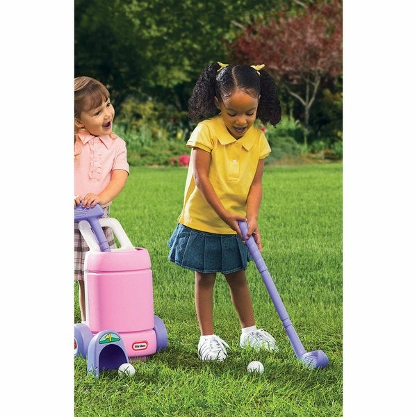 Little Tikes Pink/ Purple TotSports? Easy Hit? Golf Set