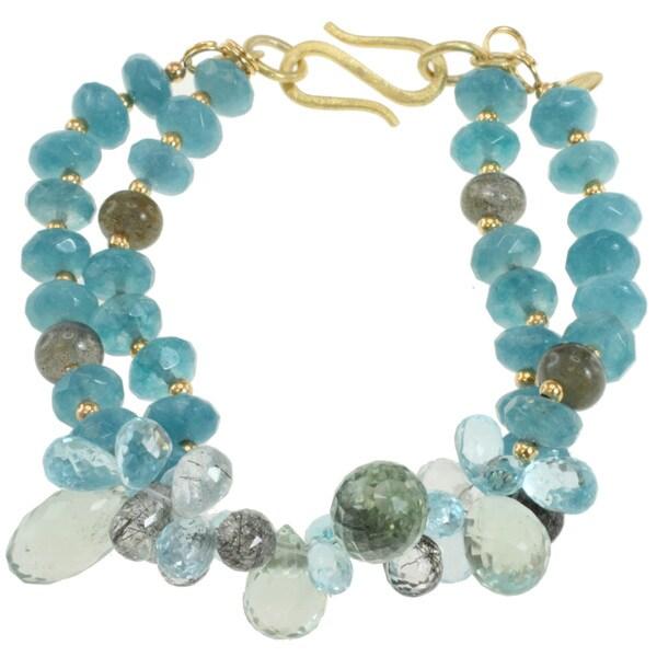 Michael Valitutti Multi-Gemstone Bracelet