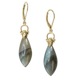 Michael Valitutti Two-tone Labradorite Earrings