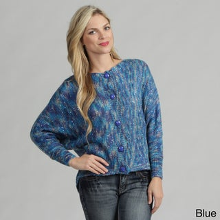 Tabeez Reversible Space-dye Cardigan