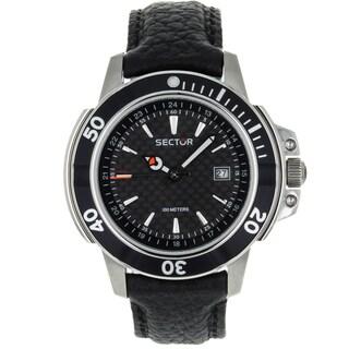 Sector Men's Series 240 Steel/ Leather Watch