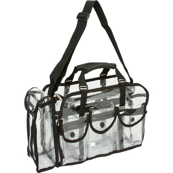 Seya Large Transparent Carry All Makeup Set Bag