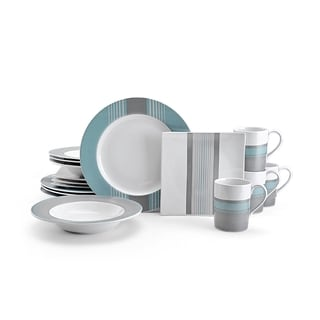 Nautica West End 16-piece Dinnerware Set
