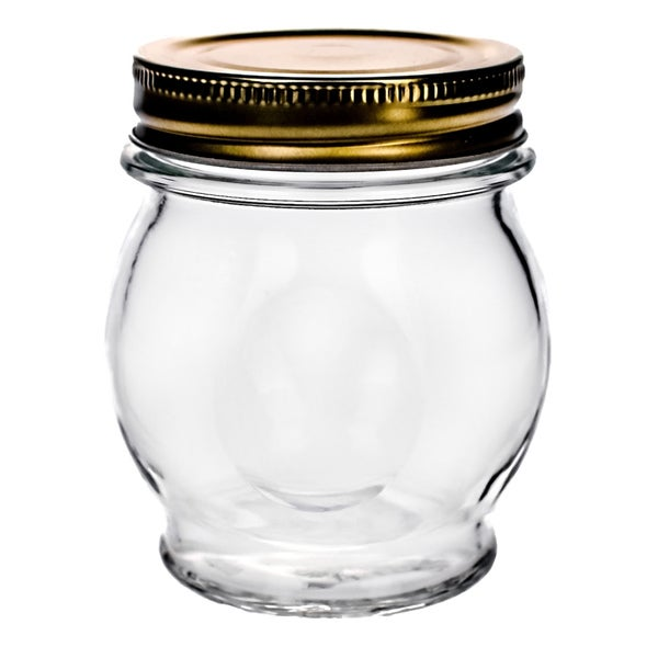 Orto 11-oz Canning Jars with Lid (Set of 6)