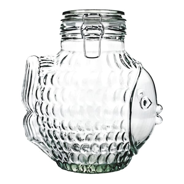 Global Amici Pesce Design Cookie Jar