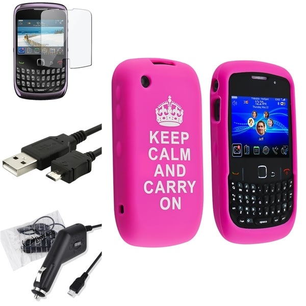 BasAcc Case/ Protector/ Cable/ Charger for BlackBerry Curve 9300/ 9330