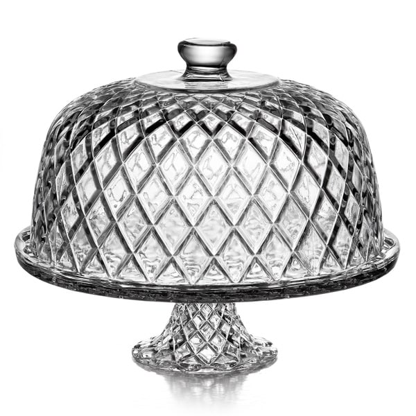 Fifth Avenue Crystal 'Muirfield' Pedestal Plate with Dome