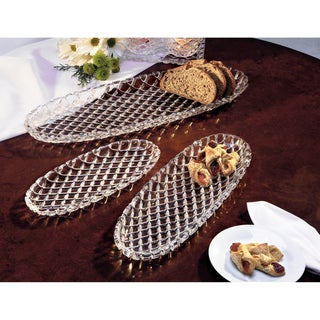 Fifth Avenue Crystal Oval Trays (Set of 3)