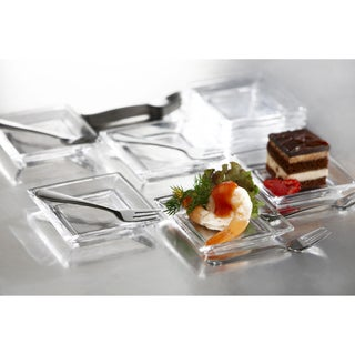 Fifth Avenue Crystal Lugano Taster Plates 25-piece Set