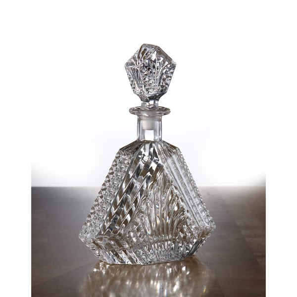 Fifth Avenue Crystal Wellington 20-oz Glass Crystal Whiskey Decanter
