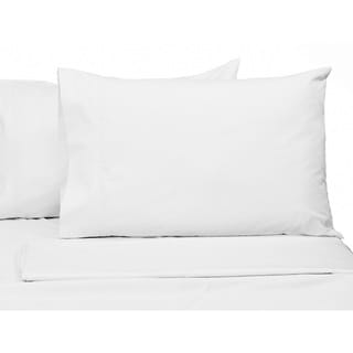 Egyptian Cotton Percale 300 Thread Count Deep Pocket Sheet Set
