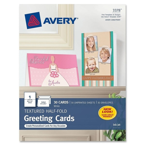Avery Greeting Card