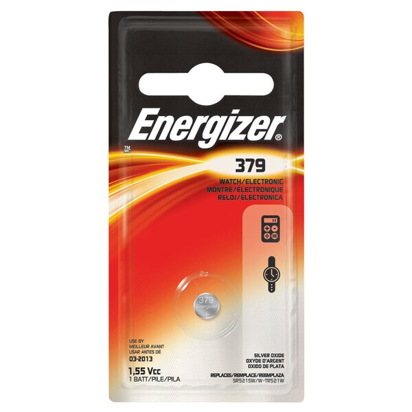 Energizer 379BPZ 379 Watch and Calculator Battery